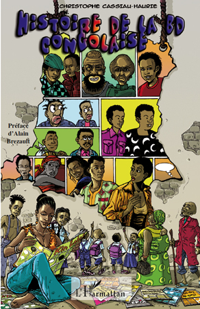 Histoire de la BD congolaise. Paris : L'Harmattan, 2010, 294 pages - ISBN : 978-2-296-12028-0