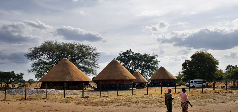 Lubuto Library Partners Mumuni Library, Thursday, Nov. 20, 2014, in Nabukuyu, Zambia. (Photo by Jason DeCrow/Lubuto Library Partners)