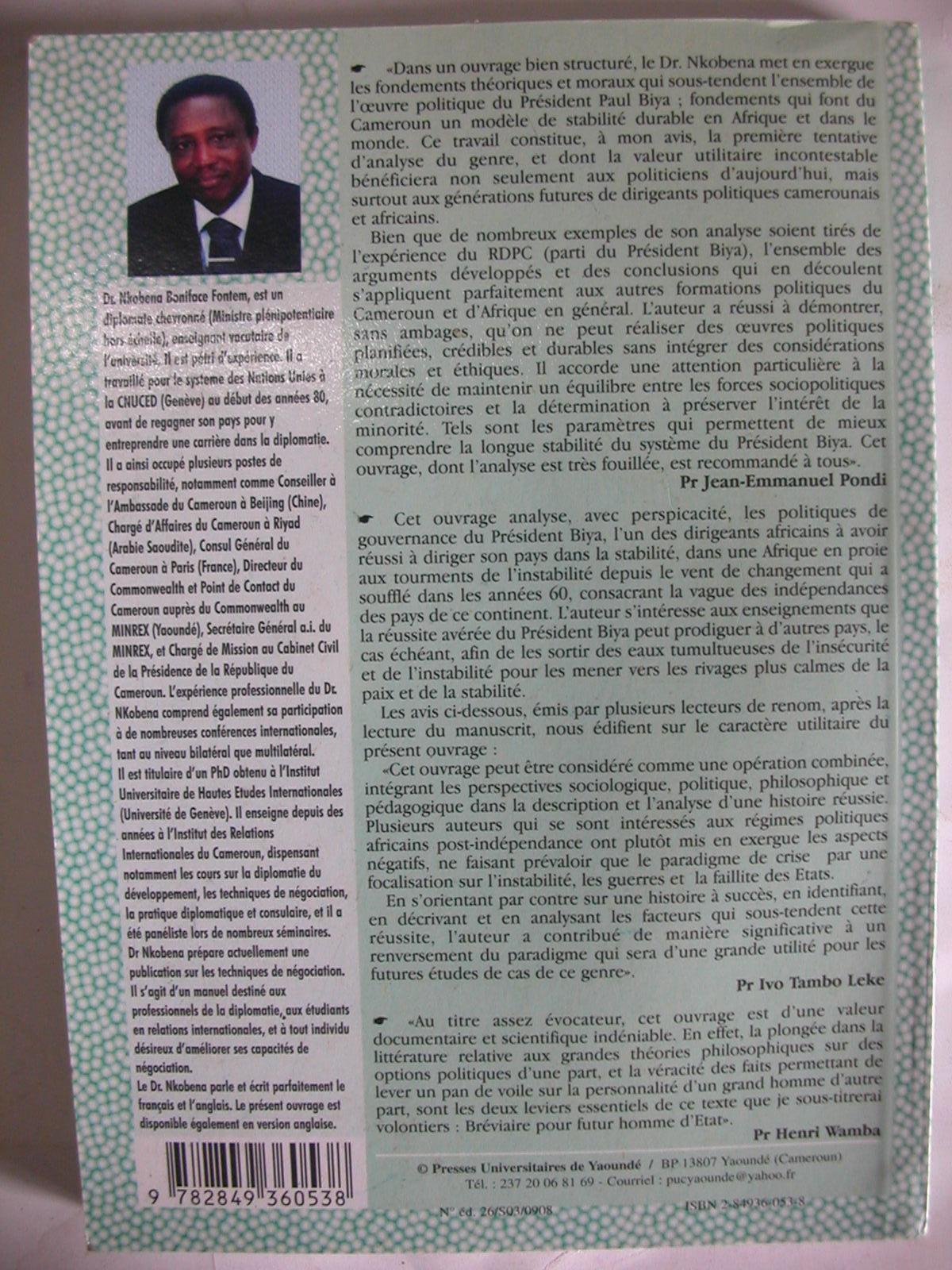 Sacerdoce politique et stabilité des systèmes, le paradigme Paul Biya (2008)2
